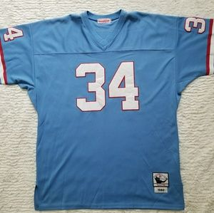 a8061db36 ... reduced mitchell ness shirts earl campbell houston oilers throwback  jersey 2e819 a487e
